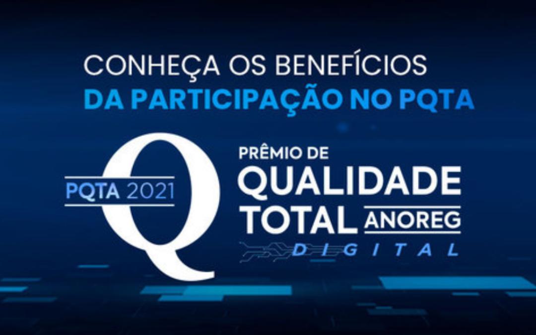 Prêmio de Qualidade Total da Anoreg/BR (PQTA): conheça os benefícios da participação